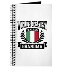 World's Greatest Italian Grandma Journal
