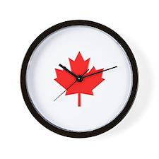 Big A** Maple Leaf Wall Clock