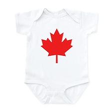 Big A** Maple Leaf Infant Bodysuit