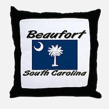Beaufort South Carolina Throw Pillow