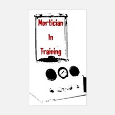 Mortician Rectangle Decal