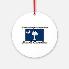 Batesburg-Leesville South Carolina Ornament (Round