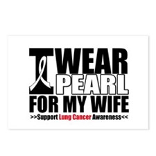 Lung Cancer Wife Postcards (Package of 8)