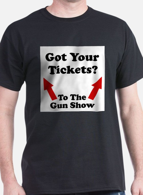 Got your tickets to the gun s Ash Grey T-Shirt