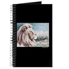 AntoinetteArt Curly Permed Lion Journal