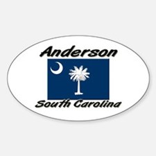 Anderson South Carolina Oval Decal