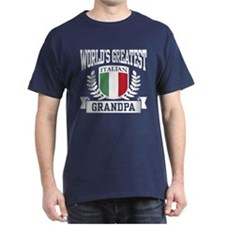 World's Greatest Italian Grandpa T-Shirt