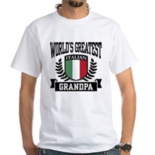 World's Greatest Italian Grandpa Shirt