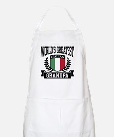 World's Greatest Italian Grandpa BBQ Apron