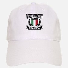 World's Greatest Italian Grandpa Baseball Baseball Cap