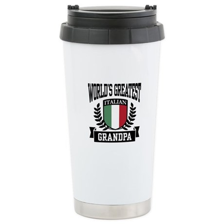World's Greatest Italian Grandpa Stainless Steel T