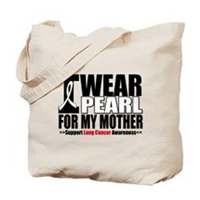 Lung Cancer Mother Tote Bag