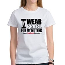 Lung Cancer Mother Tee