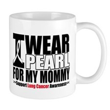 Lung Cancer Mommy Mug