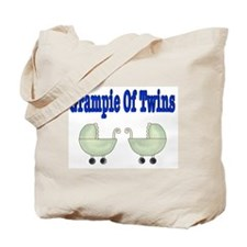 Grampie Of Twins Tote Bag