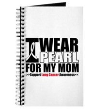 Lung Cancer Ribbon Mom Journal