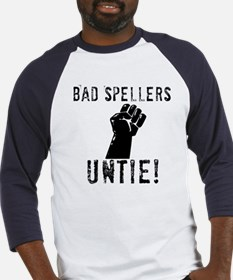 Bad Spellers Baseball Jersey