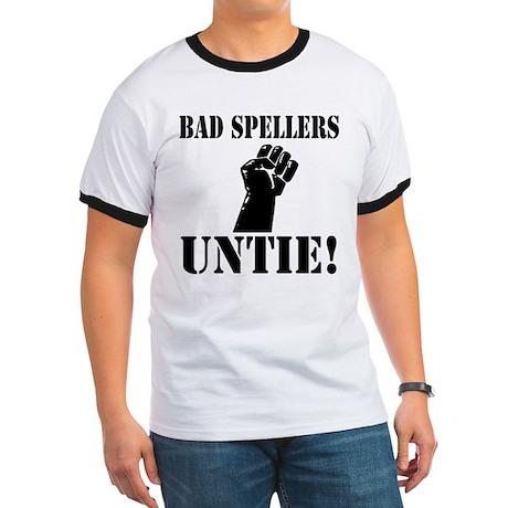 Bad Spellers Ringer T