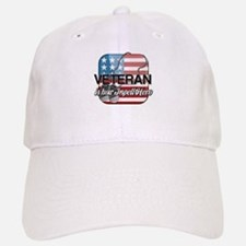 Veteran is how I spell Hero Baseball Baseball Cap