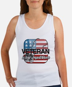 Veteran is how I spell Hero Women's Tank Top