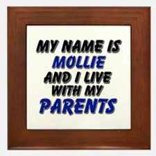 my name is mollie and I live with my parents Frame