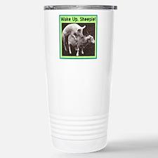 """""""Wake Up Sheeple"""" Travel Mug"""