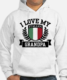 I Love My Italian Grandpa Jumper Hoody