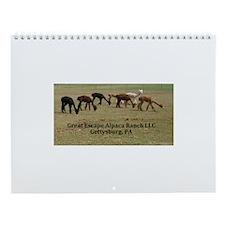 Alpaca Pride Designs Wall Calendar