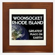 woonsocket rhode island - greatest place on earth
