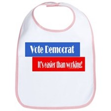 Vote Democrat Bib