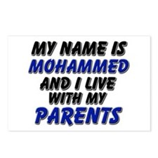 my name is mohammed and I live with my parents Pos