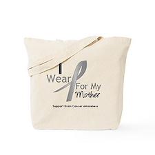 Gray Ribbon Mother Tote Bag