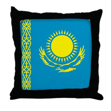 Kazakhstan Throw Pillow