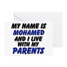 my name is mohamed and I live with my parents Gree
