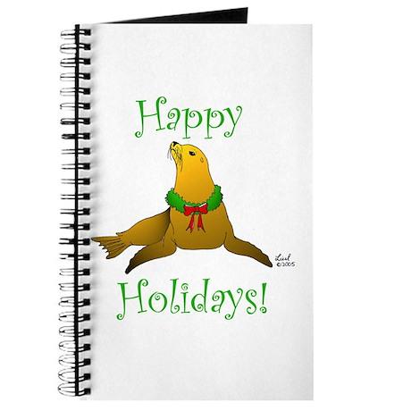 Christmas Sea Lion Journal