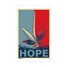 """Hope For Sense"" Legalize Marijuana Decal"