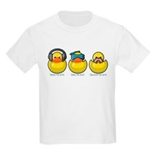 No Evil Ducks Kids T-Shirt