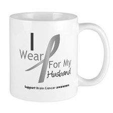 Gray Ribbon Husband Mug