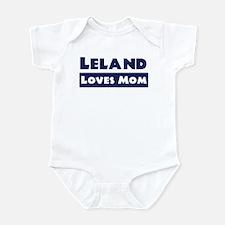 Leland Loves Mom Infant Bodysuit