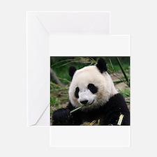 Funny Giant panda Greeting Card