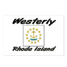 Westerly Rhode Island Postcards (Package of 8)