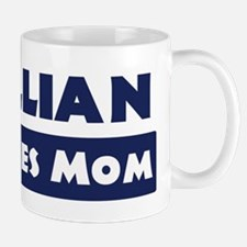 Jillian Loves Mom Mug