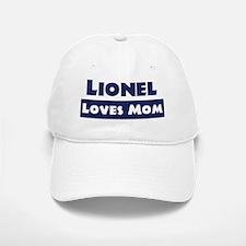 Lionel Loves Mom Baseball Baseball Cap