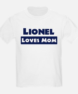 Lionel Loves Mom T-Shirt