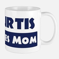 Kurtis Loves Mom Small Small Mug
