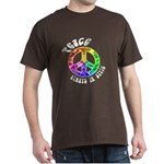 Peace Always in Style Dark T-Shirt