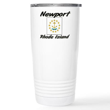 Newport Rhode Island Stainless Steel Travel Mug