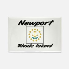 Newport Rhode Island Rectangle Magnet