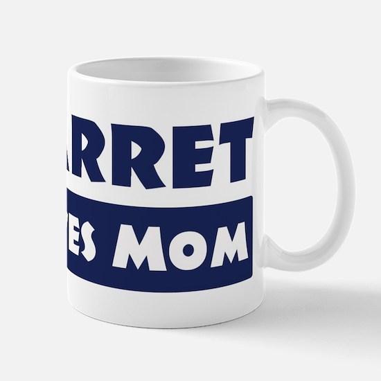 Garret Loves Mom Mug