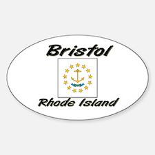 Bristol Rhode Island Oval Decal